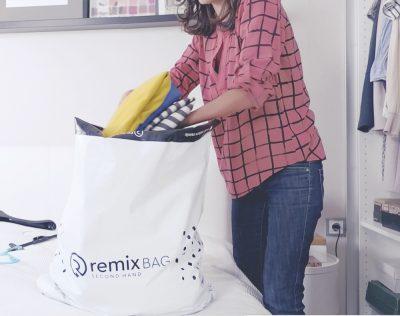 Vinde către Remix hainele pe care nu le-ai purtat niciodată și cumpără ceea ce te reprezintă de pe remixshop.com