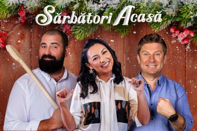 """În campania Timișoreana, """"Sărbători acasă"""", Andra, Pavel Bartoș și Adi Hădean și-au ales echipele și pornesc la concurs!"""