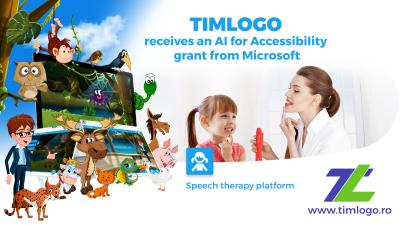 TIMLOGO.ro primește grantul AI for Accessibility de la Microsoft