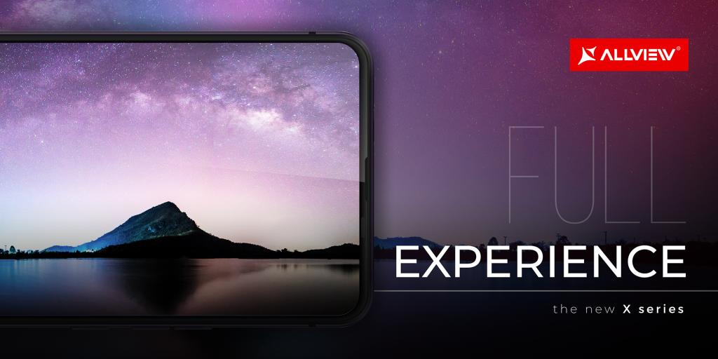 Full display – full experience, printr-o tehnologie uimitoare a noii serii X de la Allview