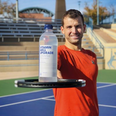 GRIGOR DIMITROV ESTE NOUL BRAND AMBASADOR GLOBAL VITAMIN WELL