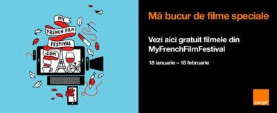 Noua ediţie MyFrenchFilmFestival disponibilă publicului din România exclusiv în Orange TV Go