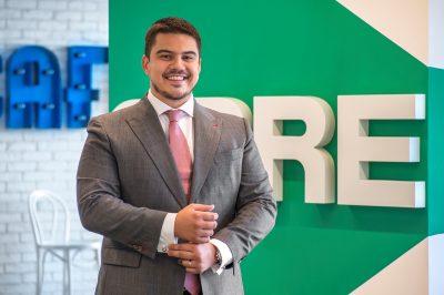 În 2018 CBRE și-a păstrat poziția de lider pe segmentul spațiilor de birouri cu o cotă de piață de 24%