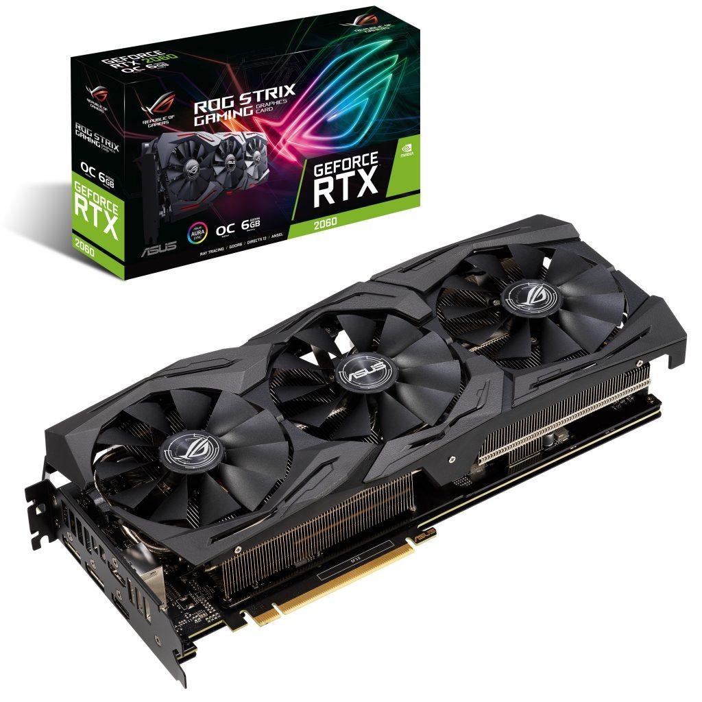 ASUS anunță plăcile video de gaming ROG Strix ASUS Dual și Turbo GeForce RTX 2060