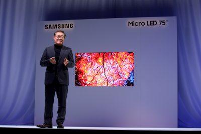 Samsung dezvăluie la CES viitorul ecranelor cu tehnologia modulară Micro LED